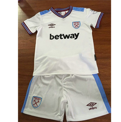 Camiseta Cfb3 B69 West Ham United 2ª Equipación 2019/2020 Kit Niños & Junior