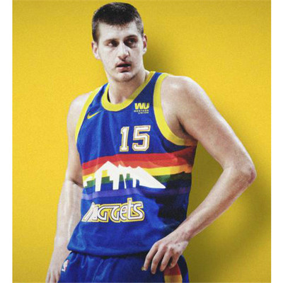 Camiseta cfb3 A009 Nikola Jokic, Denver Nuggets - Retro