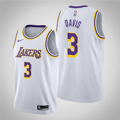 Camiseta cfb3 A018 Anthony Davis, Los Angeles Lakers 2018/19 - Association