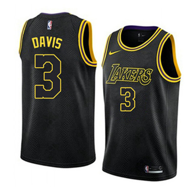 Camiseta cfb3 A019 Anthony Davis, Los Angeles Lakers 2018/19 - City Edition