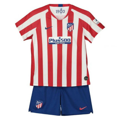 Camiseta cfb3 A252 Atlético Madrid 1ª Equipación 2019/20 Kit Junior