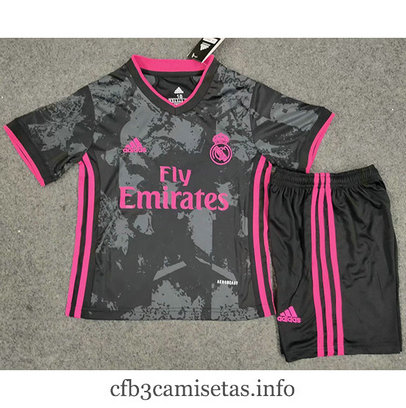 Cfb3camisetas : Camiseta Real Madrid 2ª 2020/21 Kit Niños & Junior tailandia