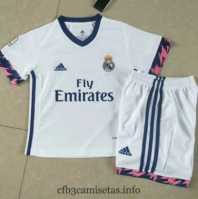 Cfb3camisetas : Camiseta Real Madrid 1ª 2020/21 Kit Niños & Junior replicas