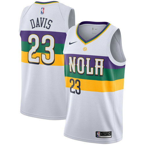 Camiseta cfb3 C574 Anthony Davis, New Orleans Pelicans 2018/19 - City Edition
