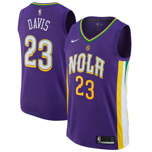 Camiseta cfb3 C577 Anthony Davis, New Orleans Pelicans - City Edition