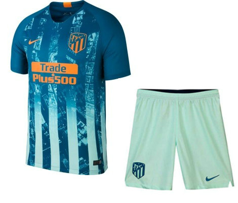 Camiseta cfb3 C1939 Atlético Madrid 3ª Equipación 2018/19 Kit Junior