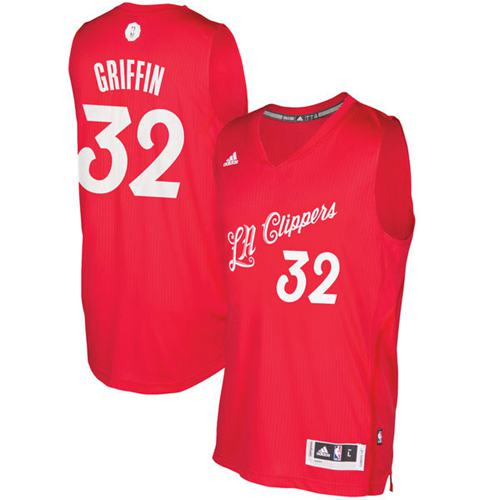 Camiseta cfb3 C378 Blake Griffin, Los Angeles Clippers - Christmas '17