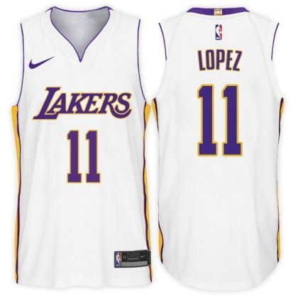 Camiseta cfb3 C412 Brook Lopez, Los Angeles Lakers - Association