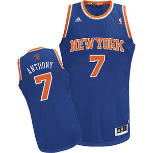 Camiseta cfb3 C595 Carmelo Anthony, New York Knicks [Azul]