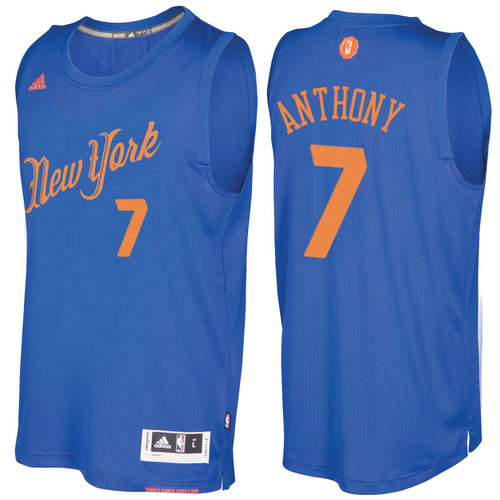Camiseta cfb3 C597 Carmelo Anthony, New York Knicks - Christmas '17