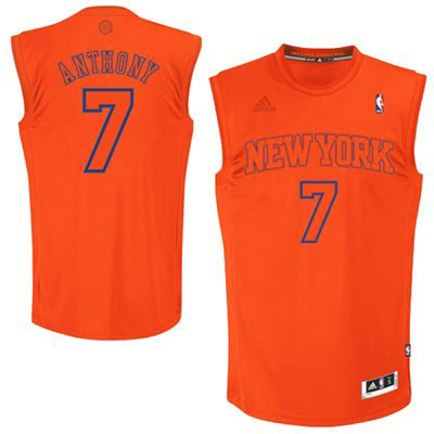 Camiseta cfb3 C598 Carmelo Anthony, New York Knicks [Naranja]