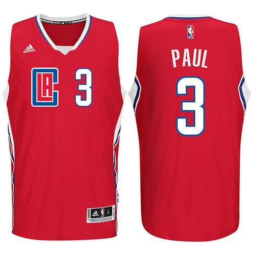 Camiseta cfb3 C384 Chris Paul, Los Angeles Clippers 2015 - Red