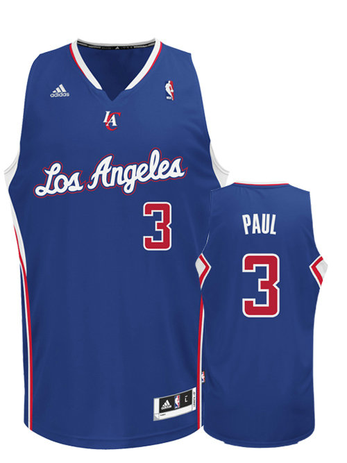 Camiseta cfb3 C386 Chris Paul, Los Angeles Clippers [Azul]