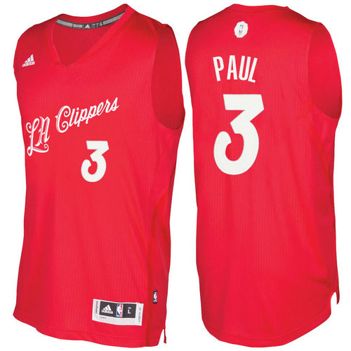 Camiseta cfb3 C388 Chris Paul, Los Angeles Clippers - Christmas '17