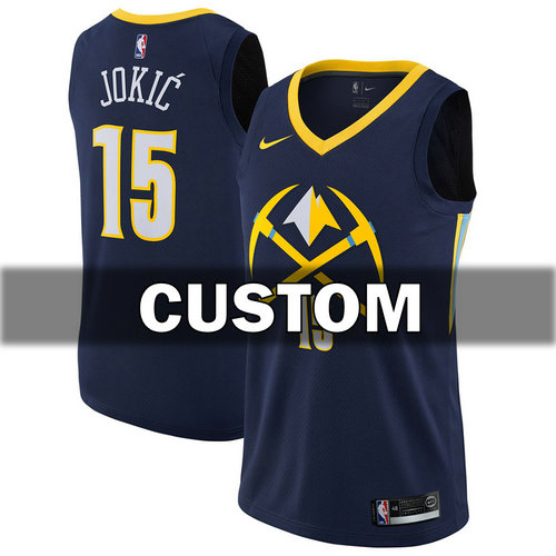 Camiseta cfb3 C261 Custom, Denver Nuggets - City Edition