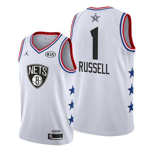 Camiseta cfb3 C031 D'Angelo Russell - 2019 All-Star Blanco