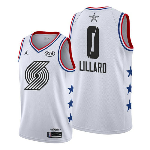 Camiseta cfb3 C029 Damian Lillard - 2019 All-Star Blanco