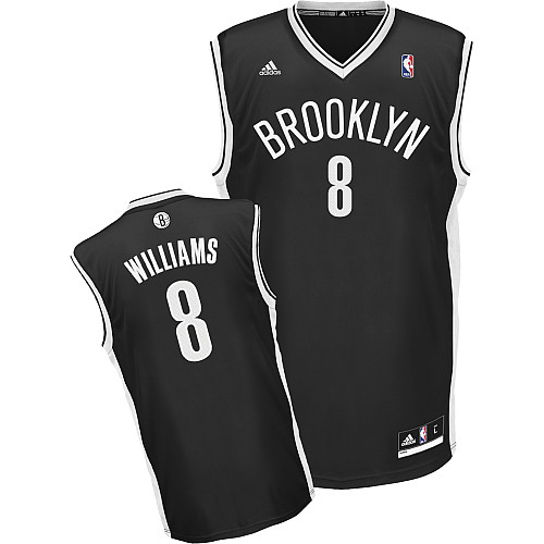 Camiseta cfb3 C144 Deron Williams, Brooklyn Nets [Negra]