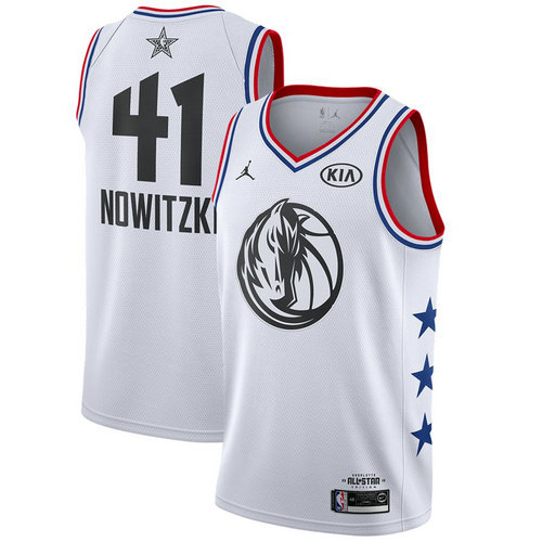 Camiseta cfb3 C033 Dirk Nowitzki - 2019 All-Star Blanco