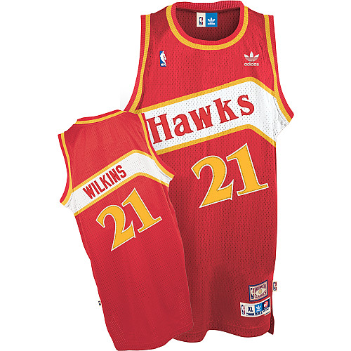 Camiseta cfb3 C094 Dominique Wilkins, Atlanta Hawks [Road]