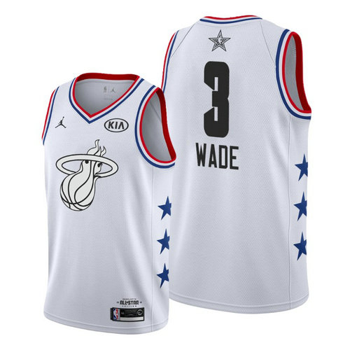 Camiseta cfb3 C035 Dwyane Wade - 2019 All-Star Blanco