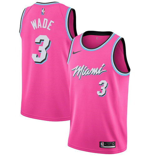 Camiseta cfb3 C507 Dwyane Wade, Miami Heat 2018/19 - Earned Edition