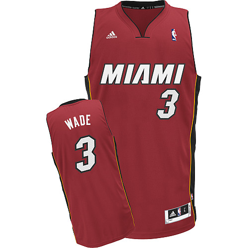 Camiseta cfb3 C508 Dwyane Wade Miami Heat [Alternate]