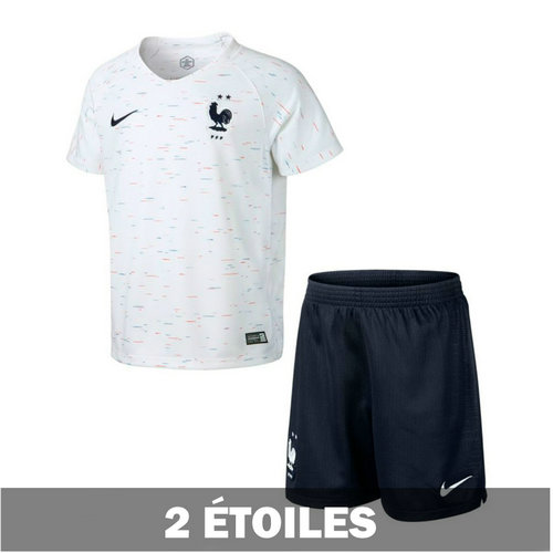 Camiseta cfb3 C2006 Francia 2ª Equipación 2018 Kit Junior **