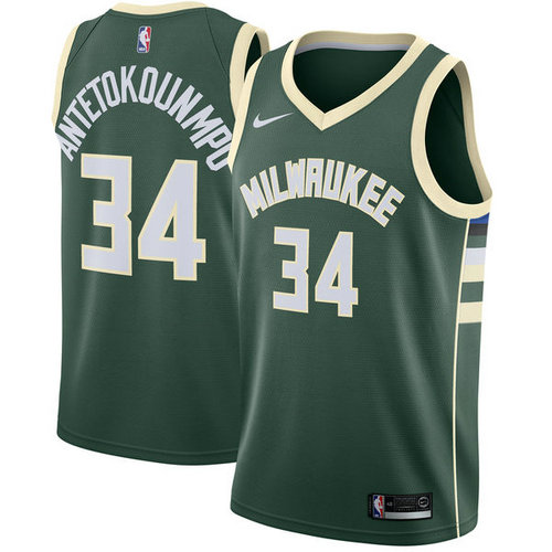 Camiseta cfb3 C538 Giannis Antetokounmpo, Milwaukee Bucks - Icon