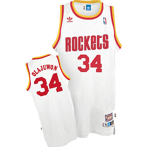 Camiseta cfb3 C339 Hakeem Olajuwon, Houston Rockets [Soul]