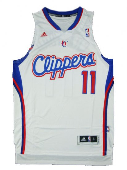 Camiseta cfb3 C396 Jamal Crawford, Los Angeles Clippers [Blanca]