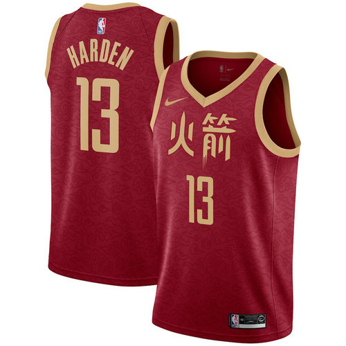 Camiseta cfb3 C340 James Harden, Houston Rockets 2018/19 - City Edition