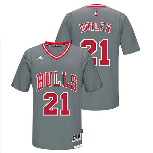 Camiseta cfb3 C174 Jimmy Butler, Chicago Bulls [Gray Pride]