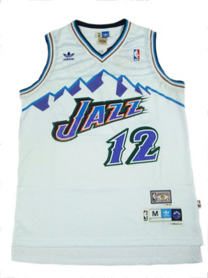 Camiseta cfb3 C823 John Stockton, Utah Jazz [Mountains]