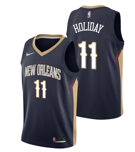 Camiseta cfb3 C586 Jrue Holiday, New Orleans Pelicans - Icon