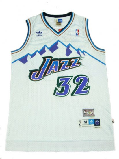 Camiseta cfb3 C825 Karl Malone, Utah Jazz [Mountains]
