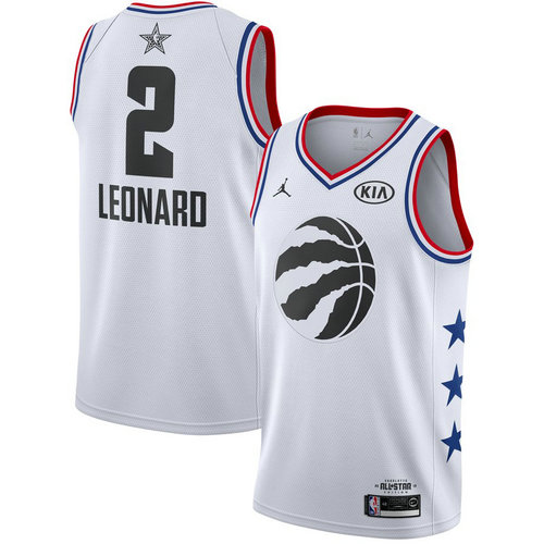 Camiseta cfb3 C054 Kawhi Leonard - 2019 All-Star Blanco