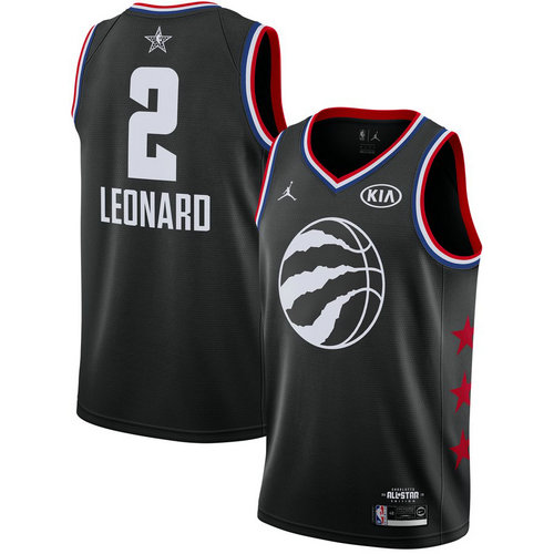 Camiseta cfb3 C055 Kawhi Leonard - 2019 All-Star Negro
