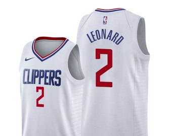 Camiseta cfb3 C398 Kawhi Leonard, Los Angeles Clippers - Association