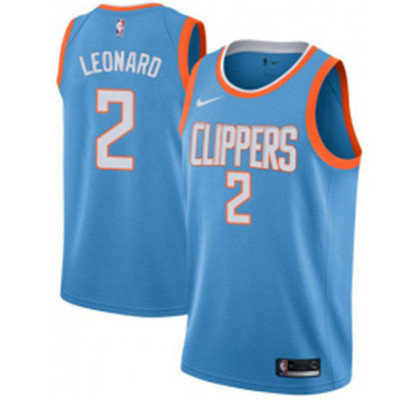 Camiseta cfb3 C399 Kawhi Leonard, Los Angeles Clippers - City Edition