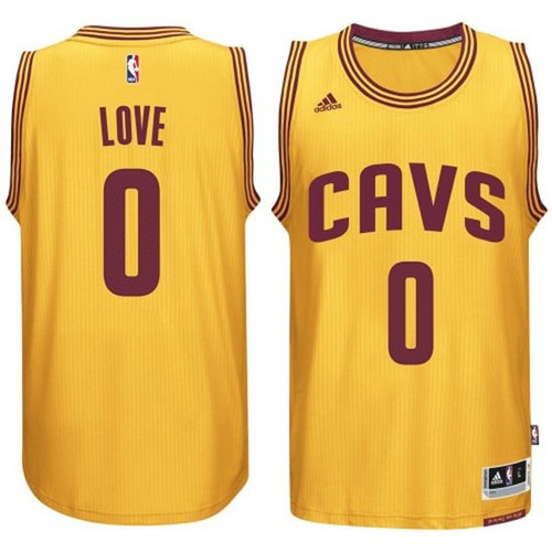 Camiseta cfb3 C229 Kevin Love, Cleveland Cavaliers - Gold