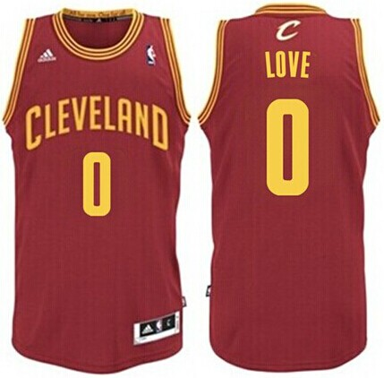 Camiseta cfb3 C231 Kevin Love, Cleveland Cavaliers - Wine