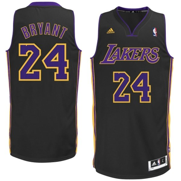 Camiseta cfb3 C432 Kobe Bryant, Los Angeles Lakers [Negra]