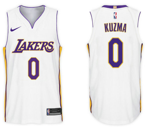 Camiseta cfb3 C435 Kyle Kuzma, Los Angeles Lakers - Association