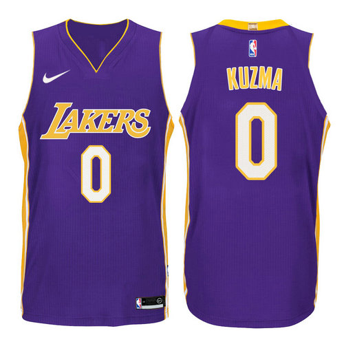 Camiseta cfb3 C438 Kyle Kuzma, Los Angeles Lakers - Statement