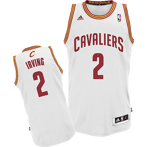 Camiseta cfb3 C235 Kyrie Irving, Cleveland Cavaliers [Blanca]