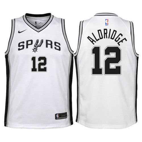Camiseta cfb3 C739 LaMarcus Aldridge, San Antonio Spurs - Association