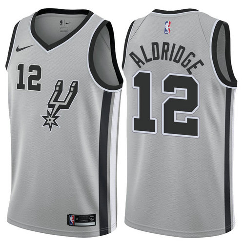 Camiseta cfb3 C742 LaMarcus Aldridge, San Antonio Spurs - Statement