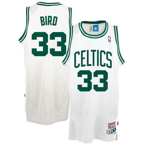 Camiseta cfb3 C119 Larry Bird Boston Celtics [Blanca]