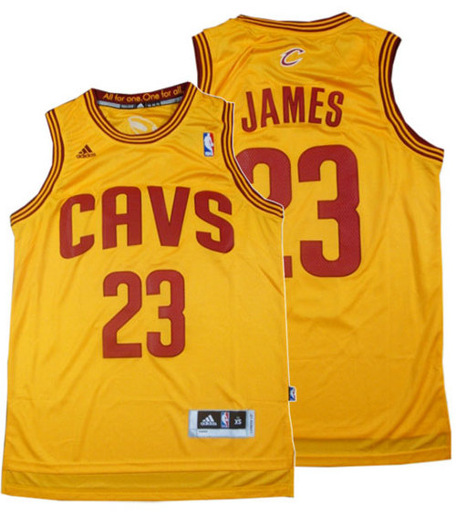 Camiseta cfb3 C248 LeBron James, Cleveland Cavaliers - Classic Alternate